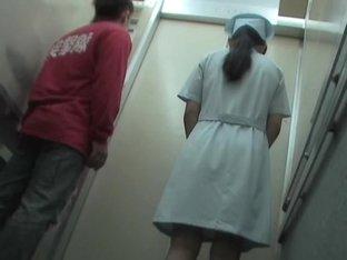 Girl does not expect the kinky man will shark her skirt