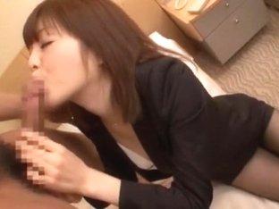 Horny Japanese chick Yuuna Ozawa, Rinka Aiuchi, Yuu Yasuda in Exotic Deep Throat, Blowjob/Fera JAV.