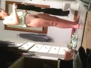 Busty and hairy milf after shower