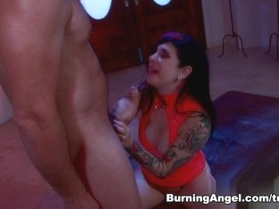 Horny pornstars Ramon Nomar, Joanna Angel in Fabulous Anal, Big Ass xxx video