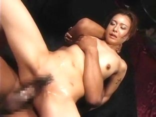 Horny Japanese whore Yuki Tsukamoto in Incredible BDSM, Gangbang JAV clip