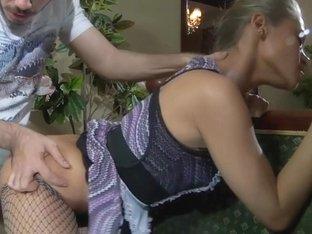 PantyhoseLine Movie: Emeralda and Geffrey
