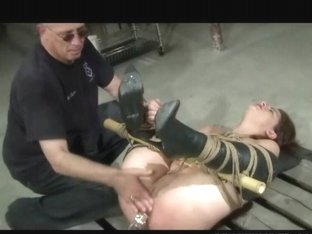 Tied Caned And Toyed