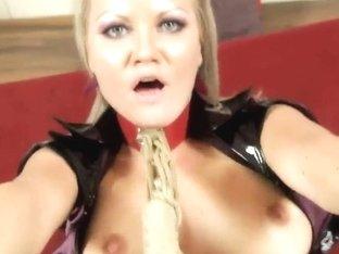 Kinky Sunny Diamond enjoys in bdsm sex in pov