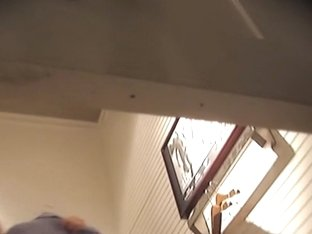 Amateur butt is shivering getting spied on change room cam