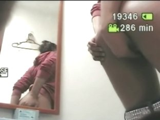 Cute teenage babe pissing in public bathroom caught by camera