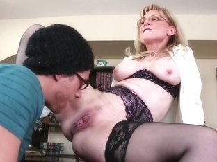Nina Hartley & Xander Corvus in My First Sex Teacher