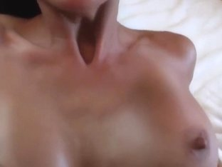 My busty girlfriend gets fucked and creamed