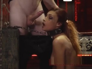 Latex anal bondage angel brutal Poor lil' Jade Jantzen, she just wanted
