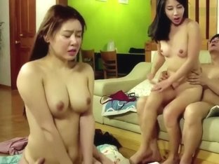 korean softcore collection foursome group fuck hot sex scene