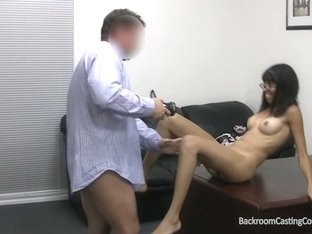 Ebony ends with my cum in her mouth