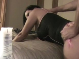 Curly golden-haired playgirl gives head