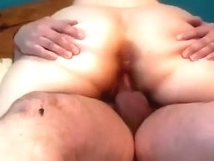 Naughty wife rides my inflexible ramrod in cowgirl position