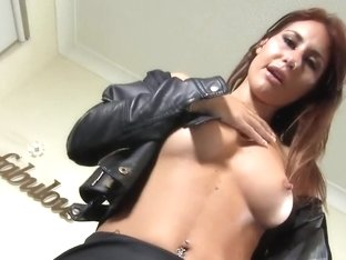 teasing in leather