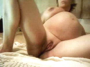 Hot milf riding her sex toys