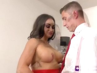 Busty Celia Loves Fucking In Office