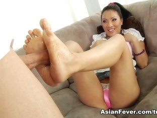 Best pornstar in Incredible Foot Fetish, Asian sex scene