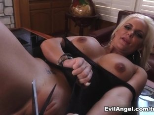 Exotic pornstars Lexington Steele, Phoenix Marie in Incredible Interracial, MILF adult movie
