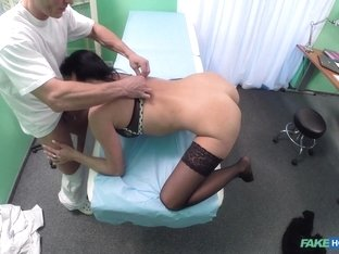 Exotic pornstar in Fabulous Brunette, Stockings xxx clip