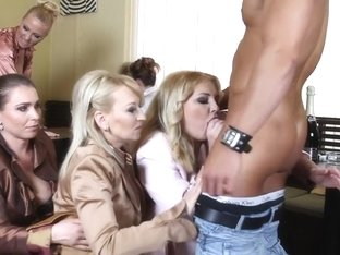 Exotic pornstars Amadea Emily, Kirsten Plant and Ferrara Gomez in fabulous blonde, mature adult sc.