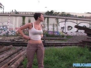 Fabulous pornstar in Amazing Reality, Public xxx movie