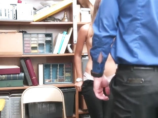 Latina Suspect Got Fucked At The Backroom Office