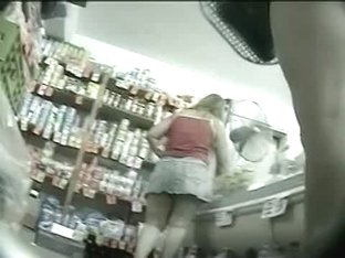 Grocery store health department upskirt voyeur videos of women