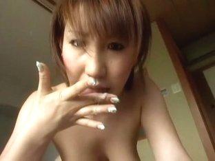 Best Japanese whore Ria Sakuragi, Rina Aina, Koharu in Amazing POV, Blowjob/Fera JAV scene