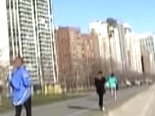 Such beautiful runners are on my new candid video 01u