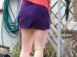 Spying on my neighbour in garden