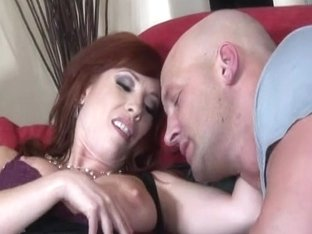 Next Door Mommies: Home teacher fucks milf on the couch