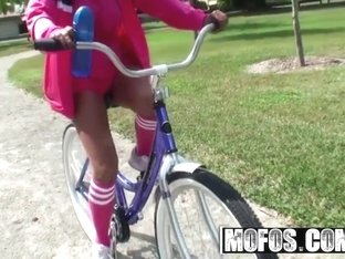 MOFOS - Shes a FREAK - Adriana Milano - I Want To Ride My Bicycle