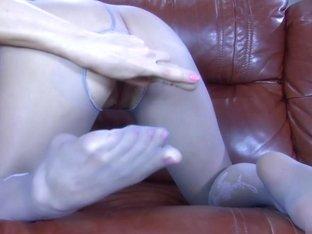 NylonFeetLine Video: Felicia C