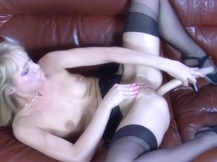 LacyNylons Video: Felicia C