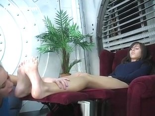 Crazy Amateur movie with Foot Fetish, Lesbian scenes