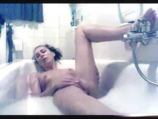 Masturbating in the hot tub for John