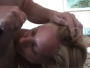 Golden-Haired British mature I'd like to fuck Facial (laughable audio)