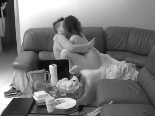 hot lesbian in living room