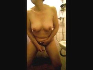 Dutch Alexandra masturbating with vibrator and cumming