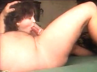 blowing my cock like a nice wife should