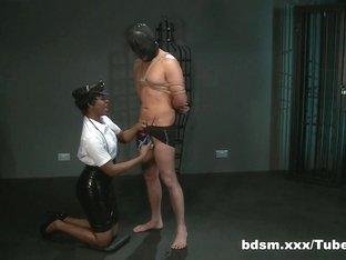 Exotic pornstar in Horny BDSM, Latex sex scene