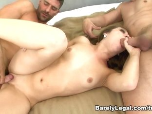 Exotic pornstar Remy LaCroix in Amazing Threesomes, Brunette porn video