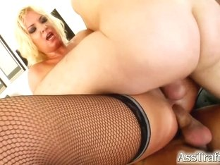 Ass Traffic Angelica gets feds cum and her ass fucked