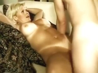 Video Of My Busty Blonde Mom Taking Advantage Of My Drunk Brother-In-Law!
