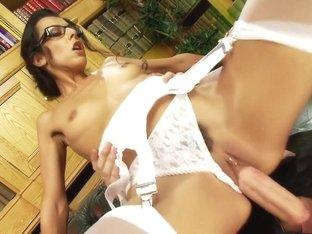 Amazing pornstar Lou Charmelle in horny brazilian, facial adult scene