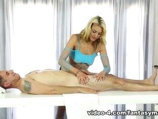 Amazing pornstars Brad Knight, Cosima Knight in Crazy Stockings, Facial porn movie