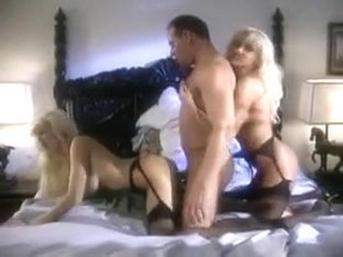 FFM Vintage Black Stocking Threesome