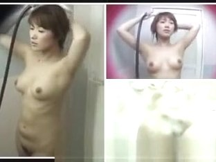 chinese girl taking shower4