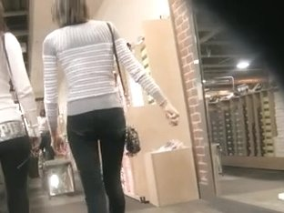 Skinny  Teens Shoe Shopping