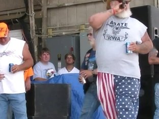 getting a biker rally wet tshirt contest started in iowa